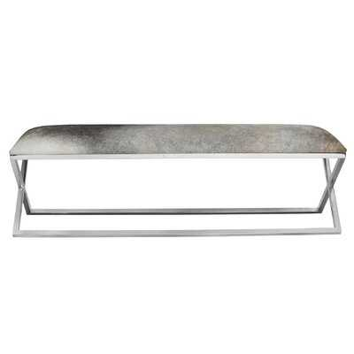 Chipley Upholstered Bench - Wayfair