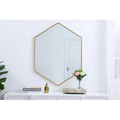 Johanna Accent Mirror - Wayfair