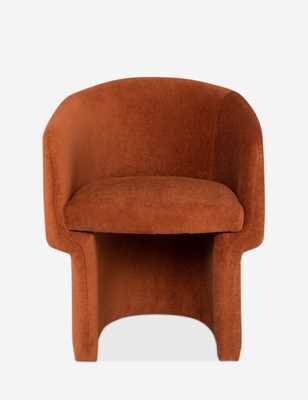 Pomona Dining Chair, Terracotta - Lulu and Georgia