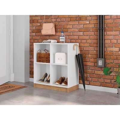 "Nedlands 29.92"" H x 26.77"" W Cube Bookcase - Wayfair"