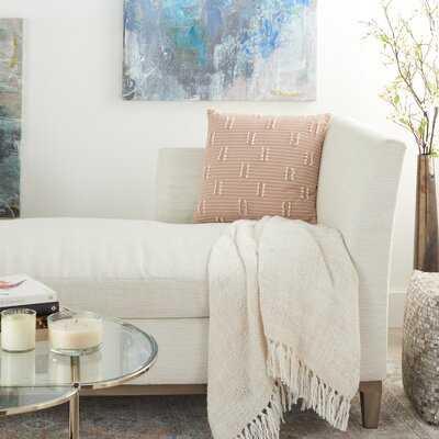 Square Cotton Pillow Cover & Insert - Wayfair
