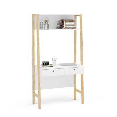 Barhorst Desk with Hutch - Wayfair