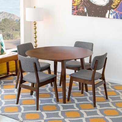 Vogelsang 5 - Piece Breakfast Nook Dining Set - Wayfair