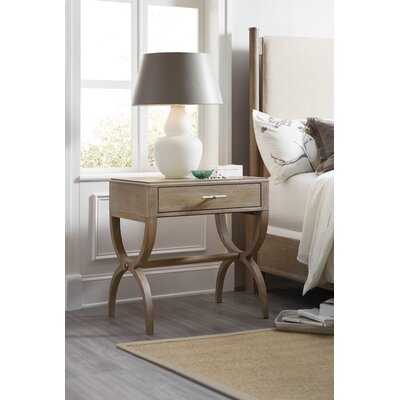 Affinity Leg 1 Drawer Nightstand - Wayfair