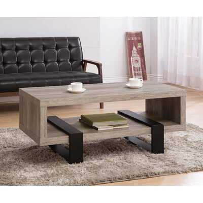 Dawsmere Sled Coffee Table with Storage - Wayfair