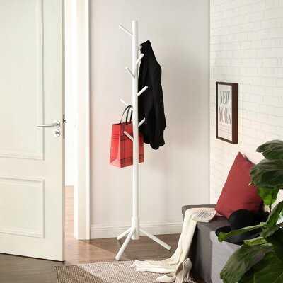 Geesche 8 - Hook Freestanding Coat Rack - Wayfair