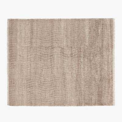Wave Hand-knotted Rug 8'x10' - CB2