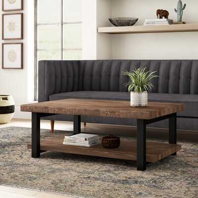 Adams Coffee Table with Storage - Wayfair