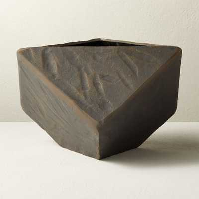 Rock Metal Planter - CB2