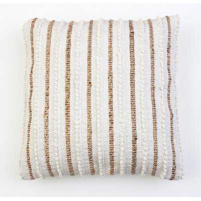 "Valeriane Striped 20"" Throw Pillow - AllModern"