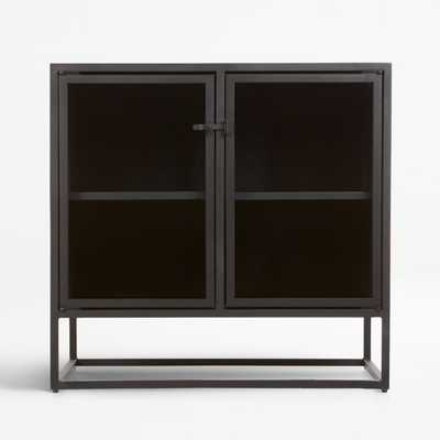 Casement Black Small Sideboard - Crate and Barrel