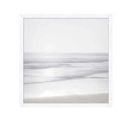 "Neutral Coast Framed Print 1, Matte White, 29""Wx29""H - Pottery Barn"