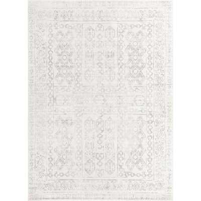 Brackett Oriental Cream/Gray Area Rug - Wayfair