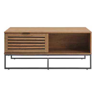 Nena Coffee Table with Storage - Wayfair