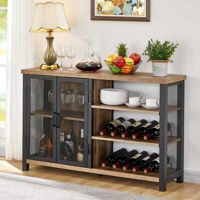 Lachesis Metal Bar Cabinet - Wayfair