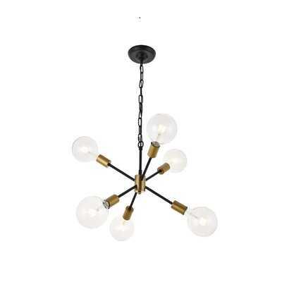 Velva 6-Light Sputnik Sphere Chandelier - Wayfair
