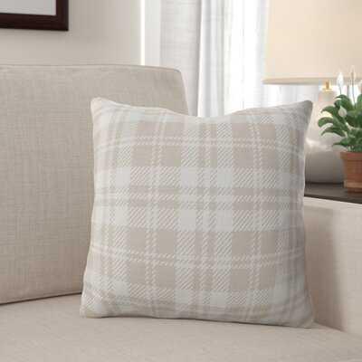 Rasch Cotton Plaid Throw Pillow - Wayfair