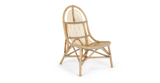 Clea Natural Lounge Chair - Article