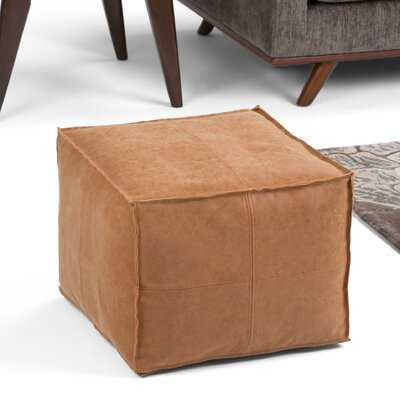 "Hamrick 18"" Square Pouf - Wayfair"