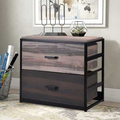 Genao 2-Drawer Lateral Filing Cabinet - Wayfair