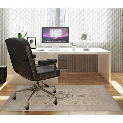 Hard floor Low pile carpet Straight Rectangular Chair mat - Wayfair