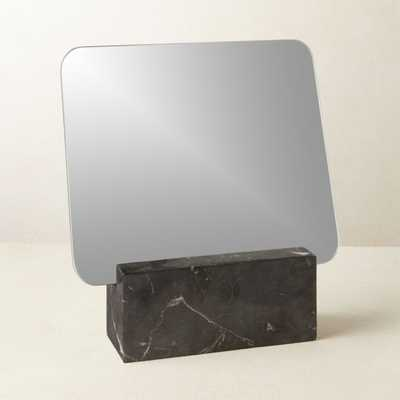 Muse Black Marble Vanity Mirror - CB2
