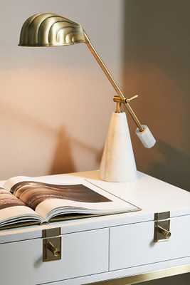 Shelley Task Lamp By Anthropologie in Brown - Anthropologie