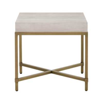 Strand Shagreen End Table - Alder House