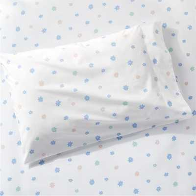 Roxy Marj Floral Puppy Twin Sheet Set - Crate and Barrel
