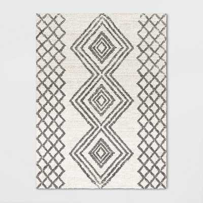 9'X12' Hand Tufted Tribal Rug Off-White - Project 62 , Size: 9'X12', Beige - Target