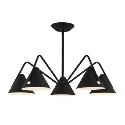 Dale 5 - Light Shaded Classic LED Chandelier - AllModern
