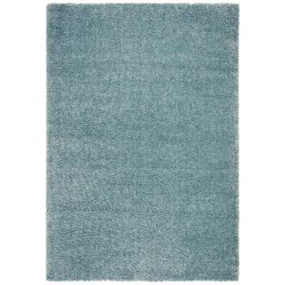 Safavieh August Shag Aqua 5 ft. x 8 ft. Area Rug, Blue - Home Depot