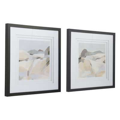 Framed Western Landscape Prints, Set of 2 - Cove Goods