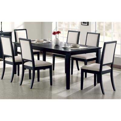 Bucareli 7 Piece Solid Wood Dining Set - Wayfair