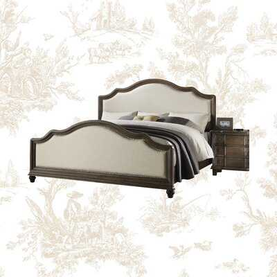 Burgan Upholstered Low Profile Standard Bed - Wayfair