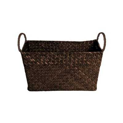 Albin Rectangular Decorative Storage Wicker Basket (Set of 2) - Birch Lane