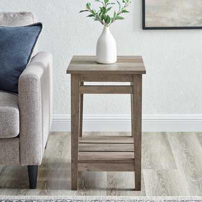Krohn End Table with Storage - Wayfair