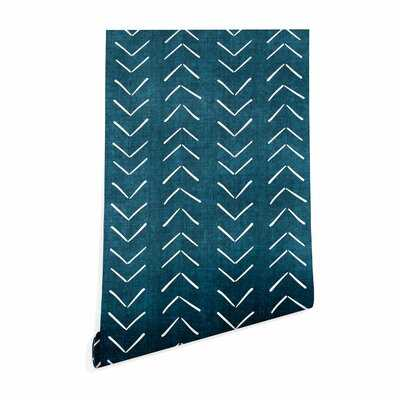 Becky Bailey Mud Cloth Big Arrows Peel and Stick Wallpaper Panel - AllModern