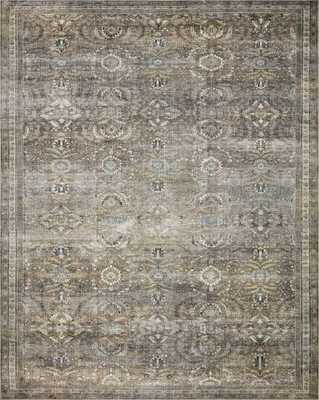 """LAYLA LAY-13 Antique / Moss 7'-6"""" x 9'-6"""" - Loma Essentials"""