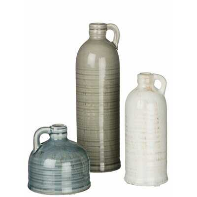 Ambrosia Jug 3 Piece Table Vase Set - Wayfair