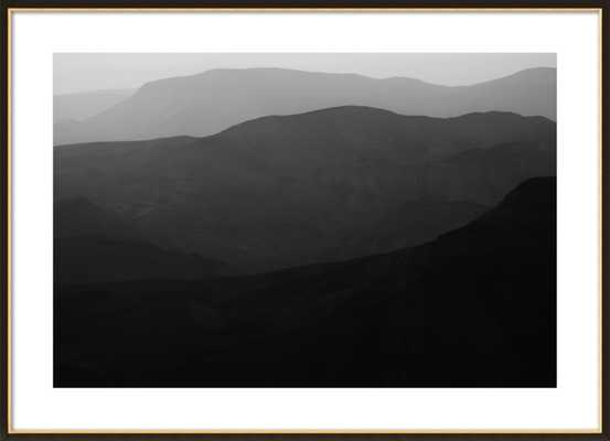 Mountains of the Judean Desert by Tal Paz-Fridman for Artfully Walls - Artfully Walls