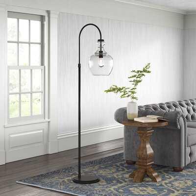 """Lamoureux 70"""" Arched Floor Lamp - Birch Lane"""