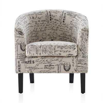 Mcmurtry Barrel Chair - Wayfair