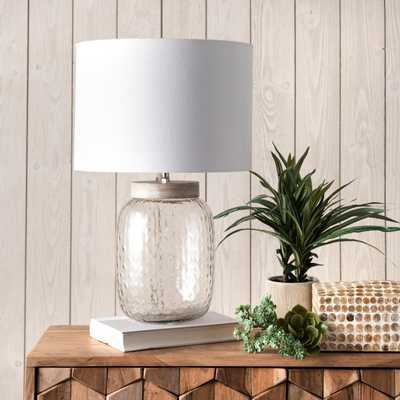 "Haines 20"" Glass Table Lamp - Loom 23"