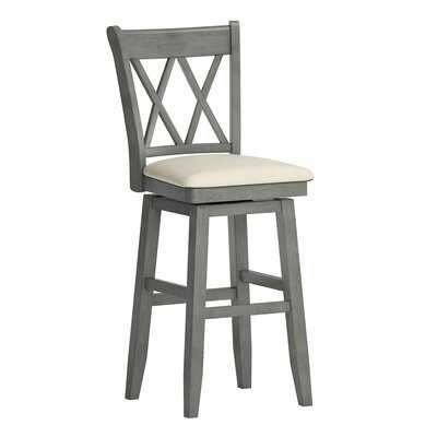 Yadiel Swivel Bar & Counter Stool - Wayfair