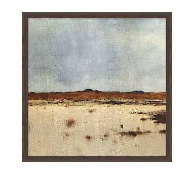 """Midlands 1 Framed Matted Print, 19"""" x 19"""" - Pottery Barn"""