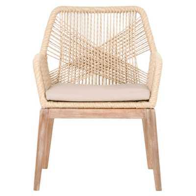 London Arm Chair, Sand (Set of 2) - Lulu and Georgia