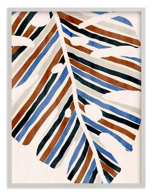 Abstract Monstera Leaf Children's Art Print - Minted