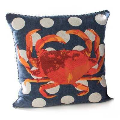 Crab Outdoor Accent Pillow - Wayfair