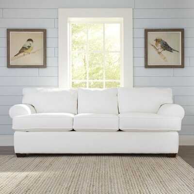 "89"" Recessed Arms Sofa Bed - Birch Lane"